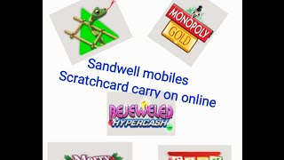 SANDWELL MOBILES CARRY ON SCRATCHCARD THURSDAY ONLINE