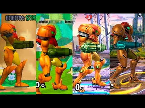 Super Smash Bros Wii U | Samus Evolution