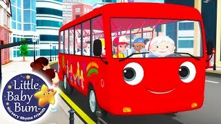 Wheels on The Bus | Little Baby Bum | Nursery Rhymes for Babies | Videos for Kids | Cartoons