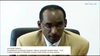 Prezidaantiin Oromiyaa Duraanii, Obboo Juuneddii Saadoo Maal - VOA