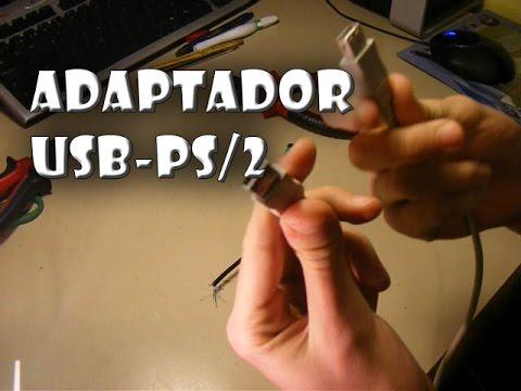 Como librar conexiones USB fabricando un adaptador de PS/2 a USB