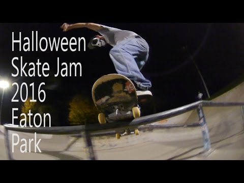 Halloween Jam 2016 Eaton Skate Park