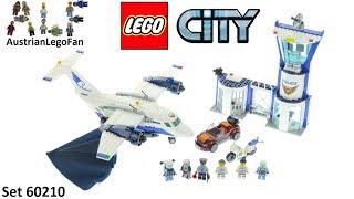 Lego City 60210 Sky Police Air Base - Lego 60210 Speed Build