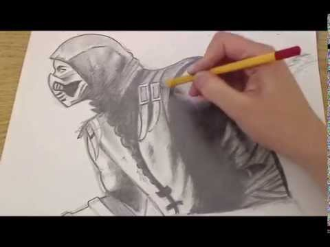 Scorpion mk Drawings How to Draw Scorpion Mortal