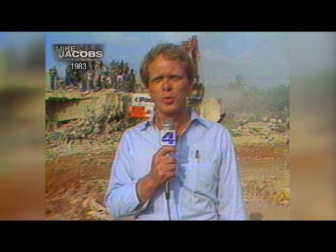 Mike reports from Beirut after the 1983 barracks bombing