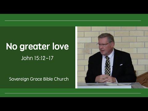 29 May 2016 -  Rev. Robert Aiken - No greater love (John 15:12-17)