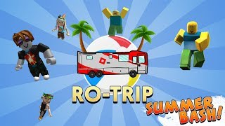 İyi Saatler Otobüsünde Turdayız /🌴Ro-Trip[SUMMER BASH!]🌴/Roblox Türkçe