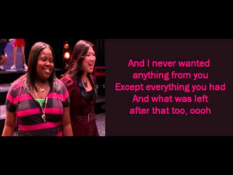 Glee - Dog Days Are Over (lyrics)
