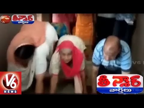 Parents Crawl, Demand CBI Investigation In Himachal School Bus Accident | Teenmaar News
