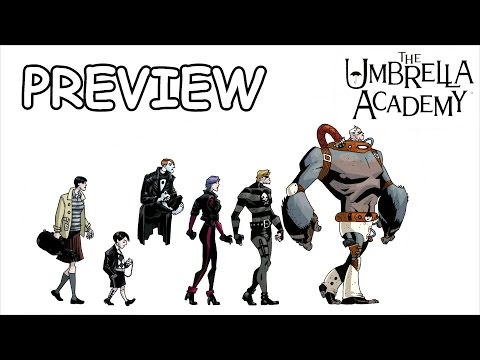 Комикс-обзор на The Umbrella Academy [Preview]