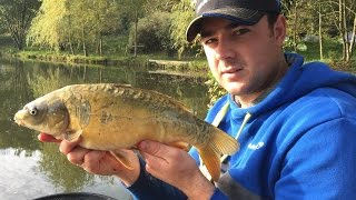 Carp Fishing - Cold-water Pellet Waggler Tips!