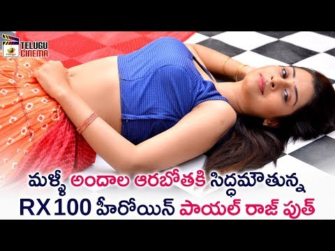 Payal Rajput Plays Crazy Role in Next Project | RX 100 Telugu Movie | 2018 Tollywood Latest Updates