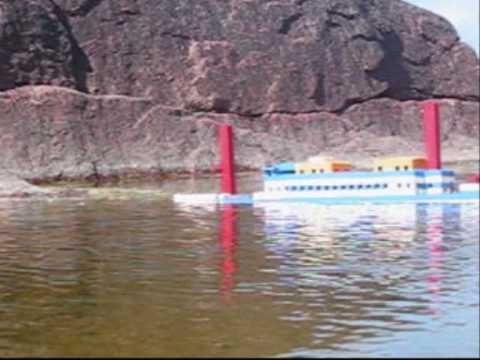 Lego Britannic Sinking Lego Titanic Sinking