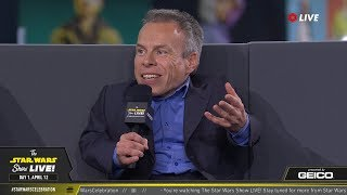Warwick Davis Takes The Stage At SWCC 2019 | The Star Wars Show Live!