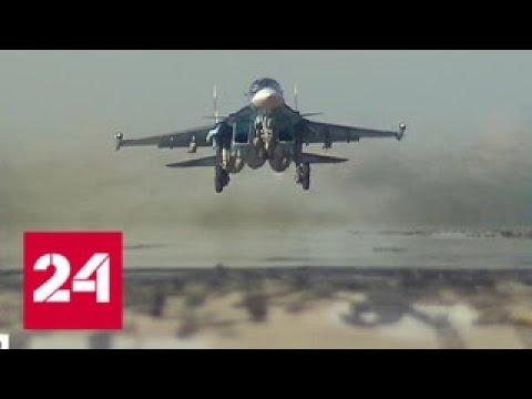 Российские самолеты ударили по сирийским террористам. Уничтожены важнейшие объекты боевиков - Росс…