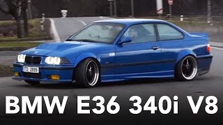 TIRE KILLER II - Widebody BMW E36 340i V8