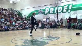 Download Teen Destroys Talent Show With Michael Jackson's