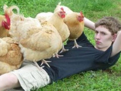 COVERED IN CHICKS -- IMG! #41