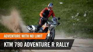 Adventure with no limit - the KTM 790 ADVENTURE R RALLY | KTM