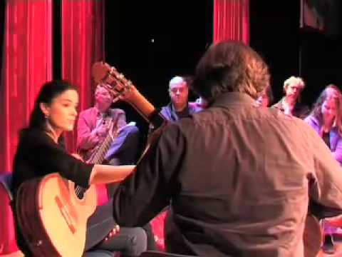 Masterclass by Ana Vidovic at Zuidlaren Guitar Festival 2009 (part 2)