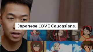 TRUTH: Why Japanese Worship White/Caucasian: WHITE SUPREMACY?!!