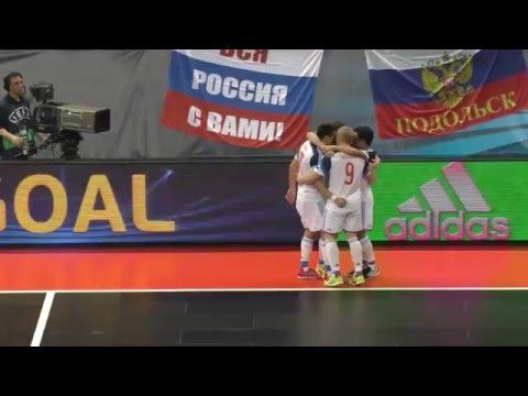 ЕВРО-16. Полуфинал. Россия - Сербия. 3:2 (2:2 ос. вр.)