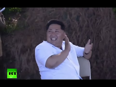 Laughing, Clapping & Smoking: Kim Jong Un sure does enjoy his rocket launches