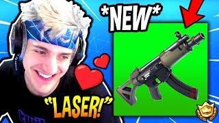 NINJA LOVES THE *NEW* SUBMACHINE GUN! *OVERPOWERED?* Fortnite FUNNY & SAVAGE Moments