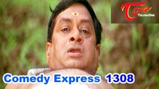 Comedy Express 1308 || Back to Back || Telugu Comedy Scenes