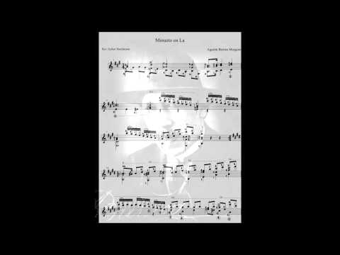 Барриос Мангоре Агустин - Minuet in A major