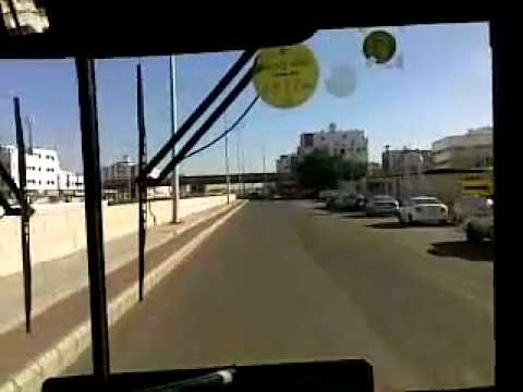 Jeddah Local Transport Bus Video