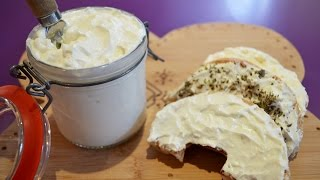 How to Turn Yogurt Into Spreadable Cheese - EASY Labneh Recipe