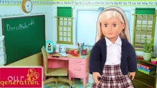 Our Generation Sınıf Düzenleme Seti 2   OG Classroom Playset Unboxing 2