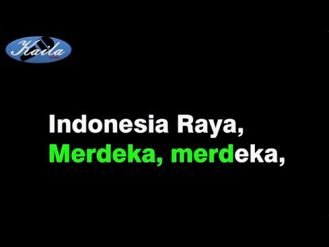 WR.Supratman - Lagu Indonesia Raya (Versi Karaoke Indonesia Tanpa Suara)
