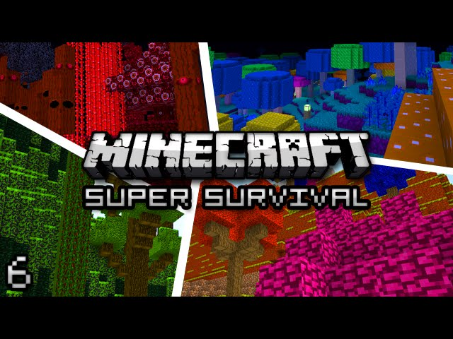 Minecraft: Super Modded Survival Ep. 6 - BOB THE ZOMBIE