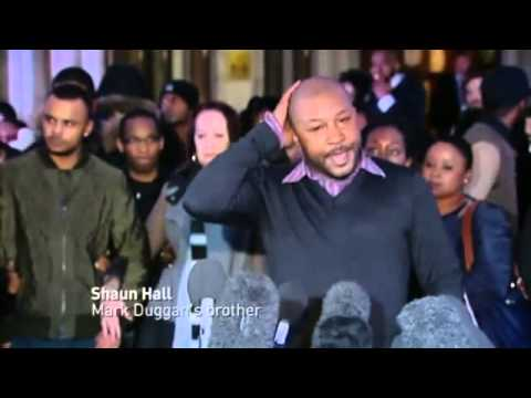 Mark Duggan family reacts to lawful killing verdict 8/1/2014