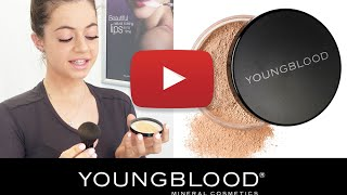 Applying Youngblood Loose Mineral Foundation - Part 1