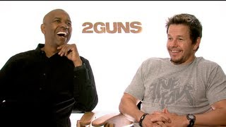 2 GUNS Interviews: Denzel Washington, Mark Wahlberg, Paula Patton and Bill Paxton
