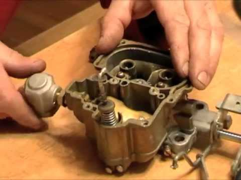 How To Rebuild A Carburetor Youtube