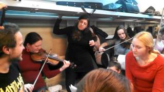 Let it go - Cantabile Orchestra Train Flash mob