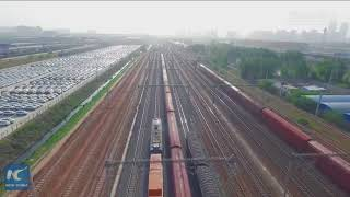 5 years on! 1,200+ direct freight trains run between central China and Europe