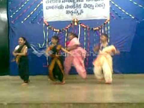 vaishnavi Janapada Nrutyalu- 2 Ugadi 2011 TELUGU CULTURAL ASSOCIATION...