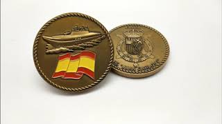 Metal Art Crafts 2D/3D Military Challenge Coins Factory