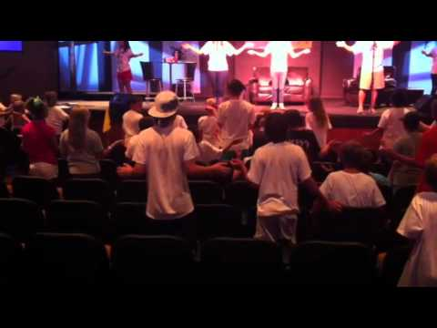 Two Preteen Boys During Worship! video