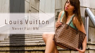 Louis Vuitton Neverfull MM UNBOXING (Damier)