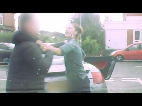 Shocking Road Rage Caught On Dashcam