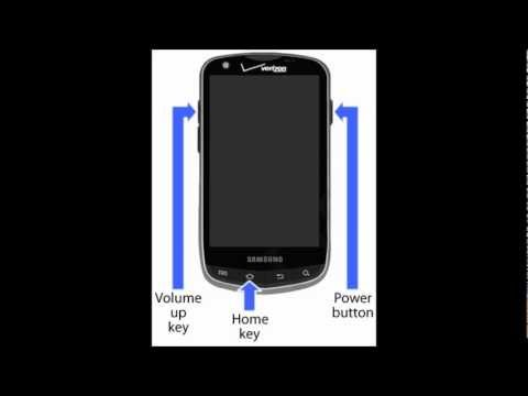 Forgot Password Samsung Droid Charge 4G for Verizon How To Hard Soft Reset