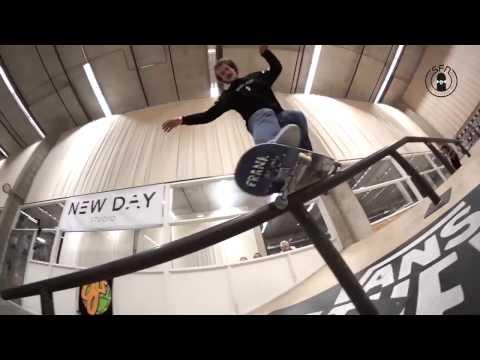 Nederlands Olympisch Skateboard Team 2017 (Sewa Kroetkov, Nassim Guammaz, Rob Maatman, Douwe Macare)