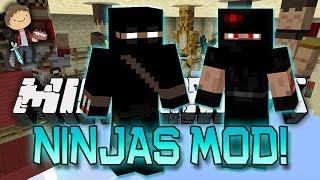 Minecraft: Mod Battles - Ninja Mods VS Pirate Mods!