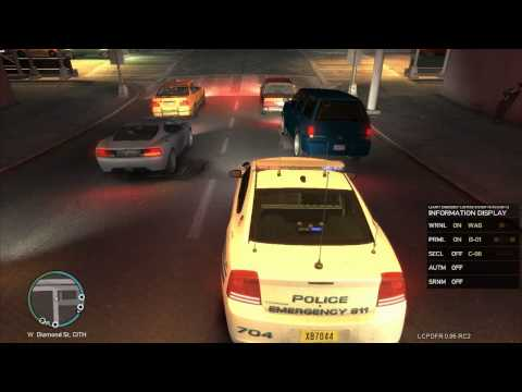 GTA IV LCPDFR 0.95 RC2 - Day 4 of the Noob on Patrol W/ Live Commentary